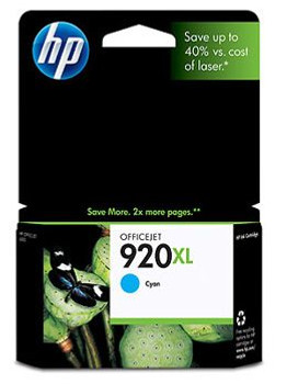 Image for HP 920XL Cyan Officejet Ink Cartridge, 700 pages (CD972AA) AusPCMarket