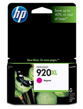 Image for HP 920XL Magenta Officejet Ink Cartridge, 700 pages (CD973AA) AusPCMarket