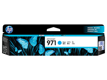 Image for HP 971 Cyan Original Ink Cartridge, up to 2500 pages (CN622AA) AusPCMarket