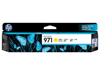 Image for HP 971 Yellow Original Ink Cartridge, up to 2500 pages (CN624AA) AusPCMarket