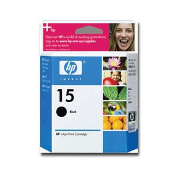 Image for HP 15 Black Inkjet Cartridge (C6615DA) AusPCMarket