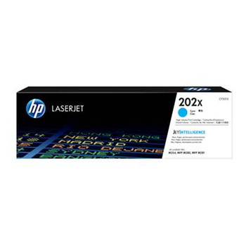 Image for HP 202X LaserJet Toner Cartridge - Cyan (CF501X) AusPCMarket