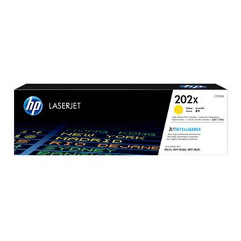 Image for HP 202X LaserJet Toner Cartridge - Yellow (CF502X) AusPCMarket