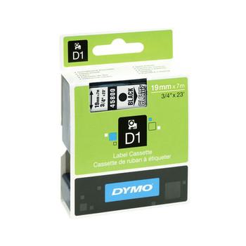 Image for Dymo Wht on Blk 19mmx7m Tape 19mm x 7m AusPCMarket