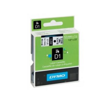 Image for Dymo Wht on Clr 12mmx7m Tape 12mm x 7m AusPCMarket