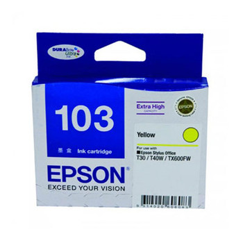 Image for Epson 103 High Yield Yellow Ink Cartridge AusPCMarket