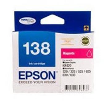 Image for Epson 138 Magenta Ink Cart 420 pages Magenta AusPCMarket