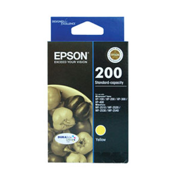 Image for Epson 200 Yellow Ink Cartridge 165 pages Yellow AusPCMarket