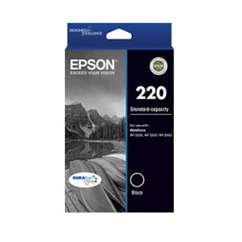 Image for Epson 220 Black Ink Cartridge AusPCMarket