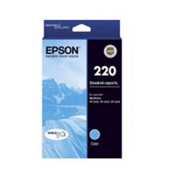 Image for Epson 220 Cyan Ink Cartridge - C13T293292 AusPCMarket