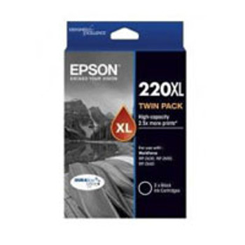 Image for Epson 220 HY Black Twin Pack AusPCMarket