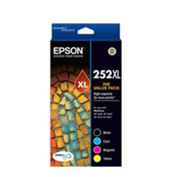 Image for Epson 252 4 HY Ink Value Pack AusPCMarket