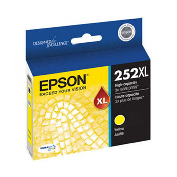 Image for Epson 252XL High Yield Yellow Ink Cartridge 1,100 pages AusPCMarket