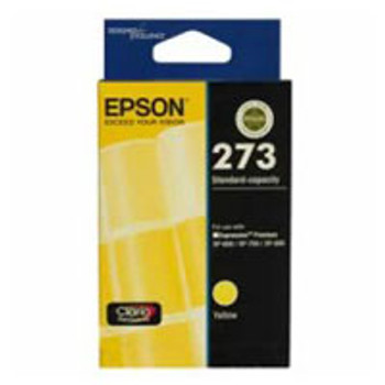 Image for Epson 273 Yellow Ink Cartridge 300 pages Yellow AusPCMarket