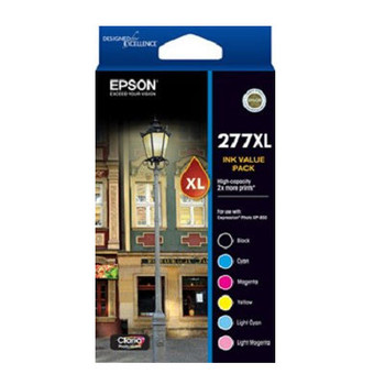 Image for Epson 277 6 HY Ink Value Pack AusPCMarket