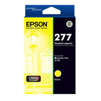 Image for Epson 277 Yellow Ink Cartridge 360 pages AusPCMarket