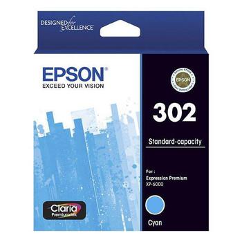 Image for Epson 302 Standard Capacity Claria Premium Cyan Ink Cartridge AusPCMarket