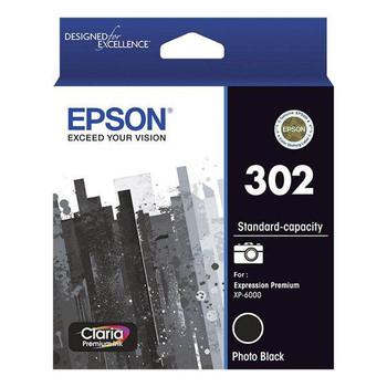 Image for Epson 302 Standard Capacity Claria Premium Photo Black Ink Cartridge AusPCMarket