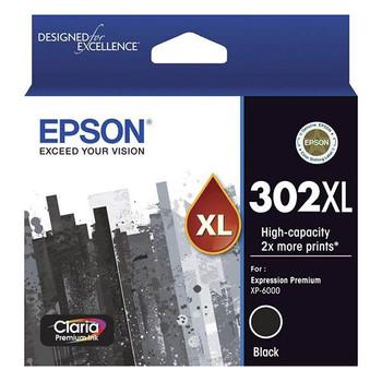 Image for Epson 302XL High Capacity Claria Premium Black Ink Cartridge AusPCMarket