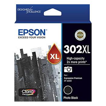 Image for Epson 302XL High Capacity Claria Premium Photo Black Ink Cartridge AusPCMarket