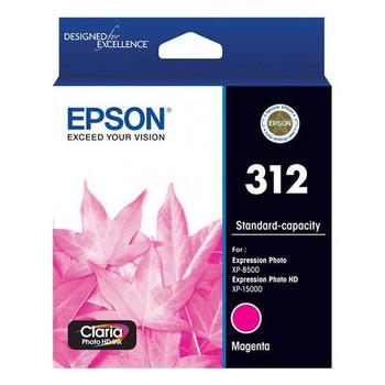 Image for Epson 312 Standard Capacity Claria Photo HD Magenta Ink Cartridge AusPCMarket