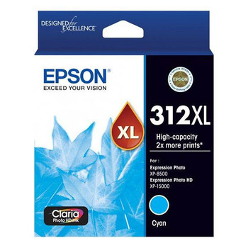 Image for Epson 312XL High Capacity Claria Photo HD Cyan Ink Cartridge AusPCMarket