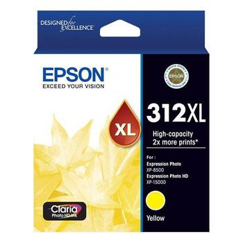 Image for Epson 312XL High Capacity Claria Photo HD Yellow Ink Carttridge AusPCMarket