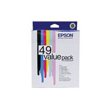 Image for Epson 49 Ink Value Pack col 430 pages Blk 420 pages Misc Consumables AusPCMarket