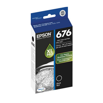 Image for Epson 676XL Black Ink Cart 2,400 pages Black AusPCMarket