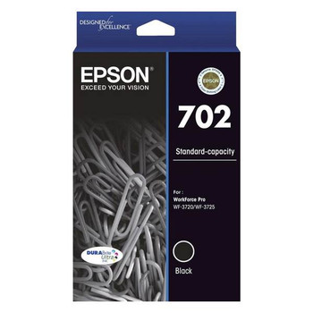 Image for Epson 702 Standard Capacity DURABrite Ultra Black Ink Cartridge AusPCMarket