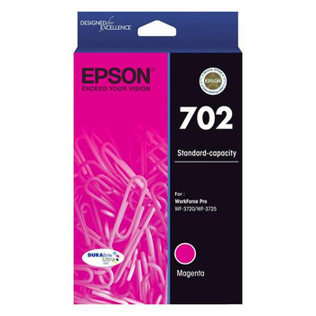 Image for Epson 702 Standard Capacity DURABrite Ultra Magenta Ink Cartridge AusPCMarket