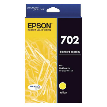 Image for Epson 702 Standard Capacity DURABrite Ultra Yellow Ink Cartridge AusPCMarket