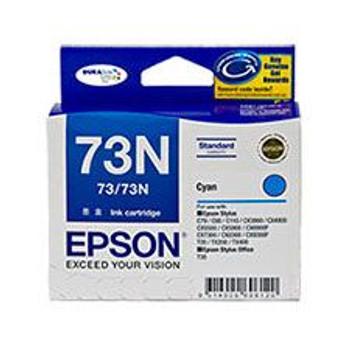Image for Epson 73/73N Cyan Ink Cartridge (T105292) AusPCMarket