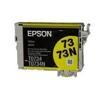 Image for Epson 73/73N Yellow Ink Print Cartridge (T105492) AusPCMarket