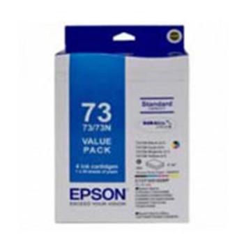 Image for Epson 73N - Standard Capacity DURABrite Ultra - Ink Cartridge Value Pack AusPCMarket