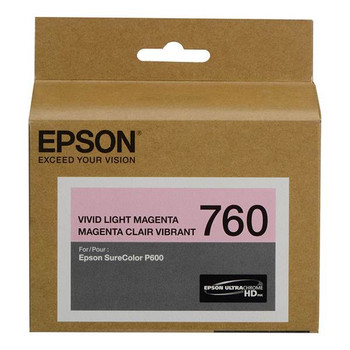 Image for Epson 760 UltraChrome HD Vivid Light Magenta Ink Cartridge AusPCMarket