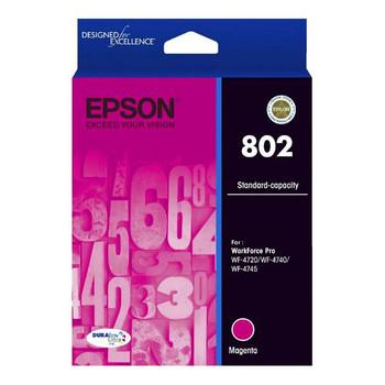 Image for Epson 802 Standard Capacity DURABrite Ultra Magenta Ink Cartridge AusPCMarket