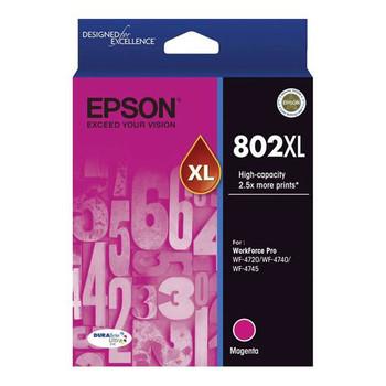 Image for Epson 802XL High Capacity DURABrite Ultra Magenta Ink Cartridge AusPCMarket