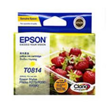 Image for Epson 81/81N  Yellow High Capacity Claria Ink (T111492) AusPCMarket