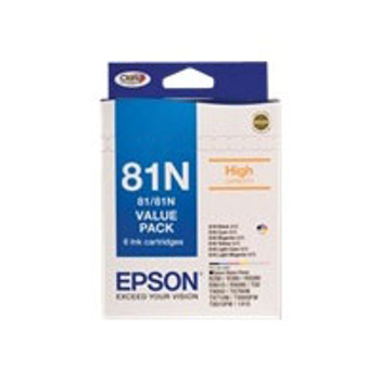 Image for Epson 81N - High Capacity Claria - Value Pack AusPCMarket