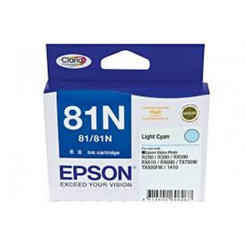 Image for Epson 81N - High Capacity Claria - Light Cyan Ink Cartridge AusPCMarket