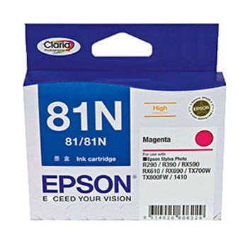Image for Epson 81N - High Capacity Claria - Magenta Ink Cartridge AusPCMarket