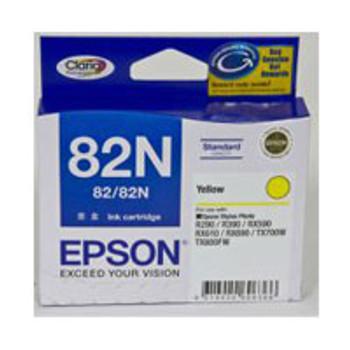 Image for Epson 82N - Standard Capacity Claria - Yellow Ink Cartridge AusPCMarket