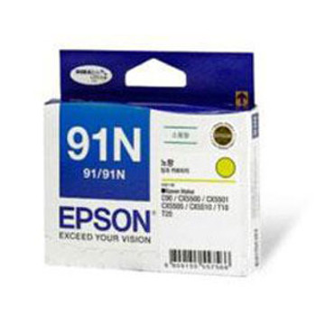 Image for Epson 91N Yellow Ink Cart 215 pages Yellow AusPCMarket