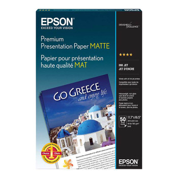 Image for Epson A3 Matte Heavy Weight Presentation Paper 50 Sheets AusPCMarket