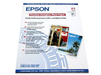 Image for Epson A3 Semi Glossy Photo Paper 20 Sheets (S041334) AusPCMarket