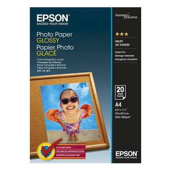 Image for Epson A4 Glossy Photo Paper 20 sheets AusPCMarket