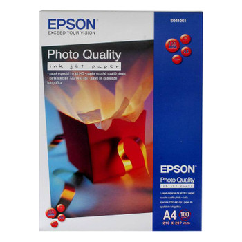 Image for Epson A4 Photo Quality Inkjet Paper 100 Sheets AusPCMarket