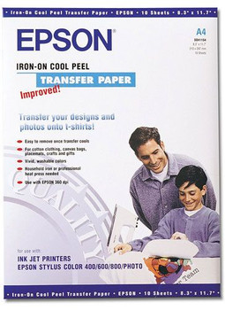Image for Epson Iron-on Cool Peel Transfer Paper A4 (SO41154) AusPCMarket