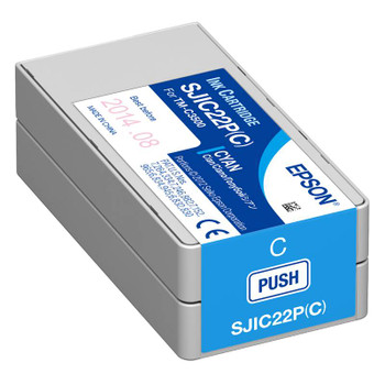 Image for Epson Cyan Ink Cartridge for C3500 AusPCMarket